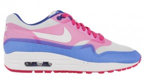 Nike WMNS Air Max 1 Hyperfuse – Sail/Pink Force-Hyper Blue