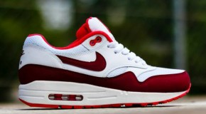 Nike WMNS Air Max 1 Essential – White / Team Red- Action Red