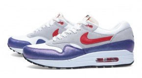 NIKE AIR MAX 1 – PURPLE/HYPER RED
