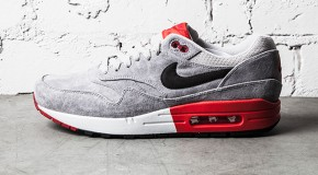 Nike Air Max 1 – Grey/Red