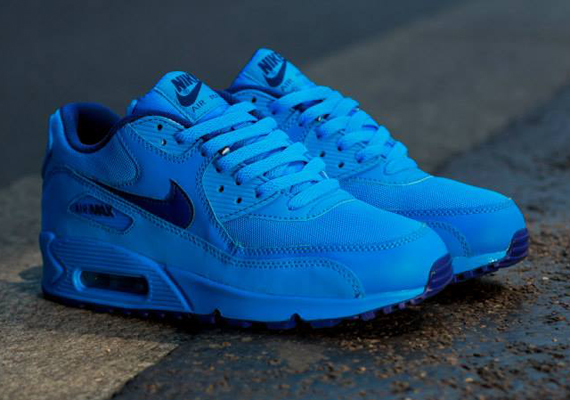 "Nike Air Max 90 GS ""Photo Blue"" 2"
