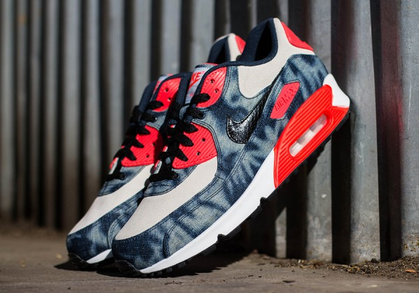 "Nike Air Max 90 ""Infrared Washed Denim"" 2"