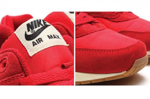 Nike Air Max 1 Essential - Gym Red/Sail-Black 3