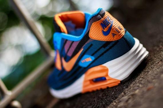 Nike Air Max Lunar90 Jacquard – Game Royal / Bright Mango 3