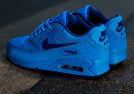 "Nike Air Max 90 GS ""Photo Blue"" 3"
