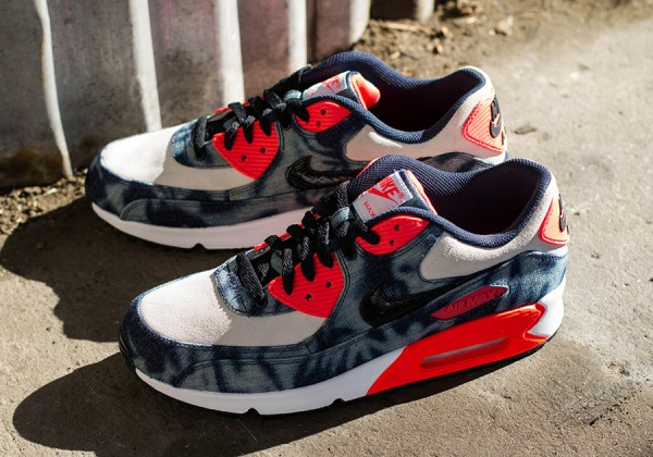 "Nike Air Max 90 ""Infrared Washed Denim"" 3"
