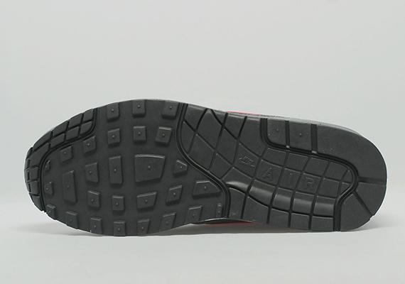 Nike Air Max 1 – Anthracite / Team Orange 3