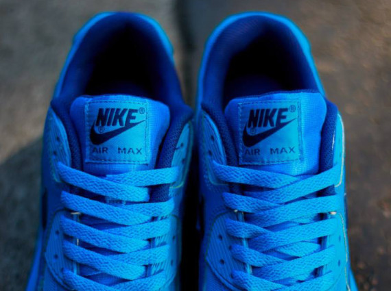 "Nike Air Max 90 GS ""Photo Blue"" 4"