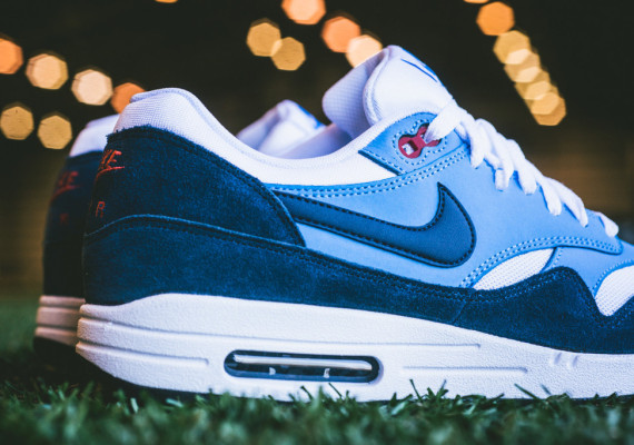 Nike Air Max 1 – White / Midnight Navy – University Blue 5