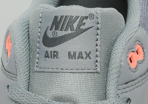 Nike Air Max 1 – Anthracite / Team Orange 5