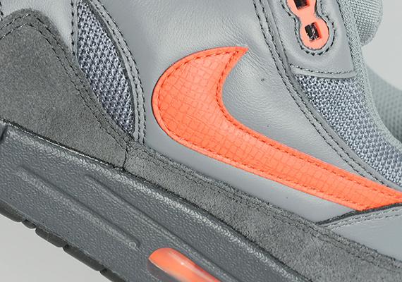 Nike Air Max 1 – Anthracite / Team Orange 6