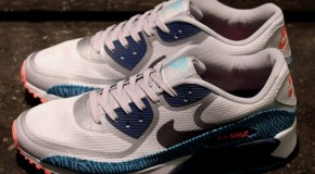 Nike Air Max 90 Tape – Grey / Gamma Blue