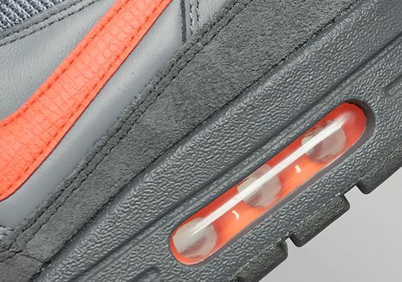 Nike Air Max 1 – Anthracite / Team Orange 7