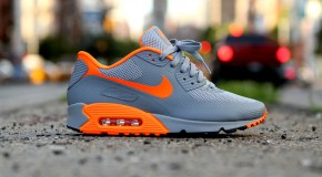 Nike Air Max 90 Hyperfuse Stealth Orange!