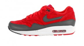 Nike Air Max 1 Premium – Gym Red/Anthracite – Sail