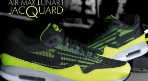 Nike Air Max Lunar1 Jacquard Iron Green/Volt-Black