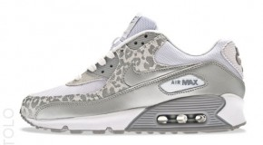 Nike WMNS Air Max 90 – White / Metallic Silver-Wolf Grey