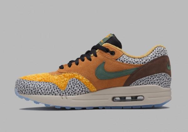 """Atmos x Nike Air Max 1 PRM """"Safari"""" Reissue 3"""