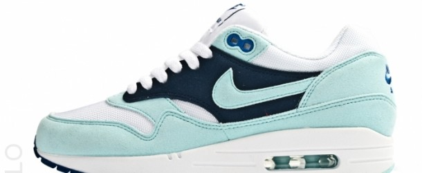 Nike Wmns Air Max 1 White/Mint Candy-Obsidian