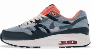 Nike WMNS Air Max 1 – Armory Blue / Armory – Atomic Pink