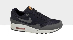 Nike Air Max 1 Essential – Dark Obsidian/Dark Grey -Total Orange