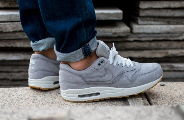 Nike Air Max 1 Essential PRM - Medium Grey / White 2