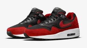 Nike Air Max 1 GS – Black / Red