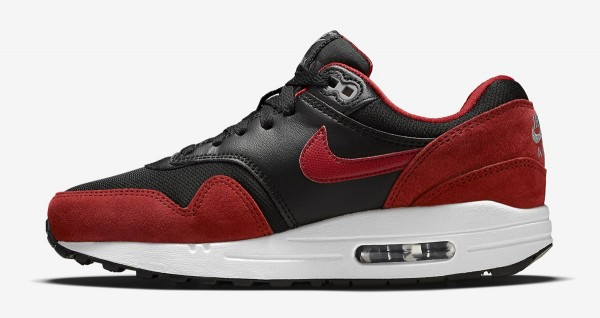 Nike Air Max 1 GS - Black / Red 2