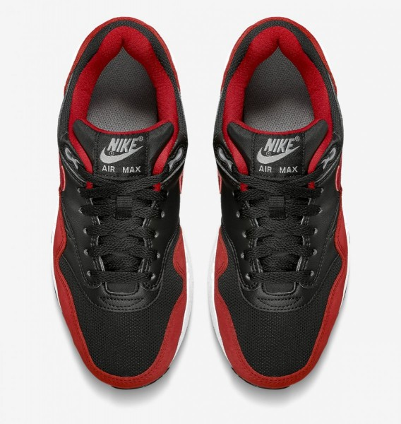Nike Air Max 1 GS - Black / Red 4
