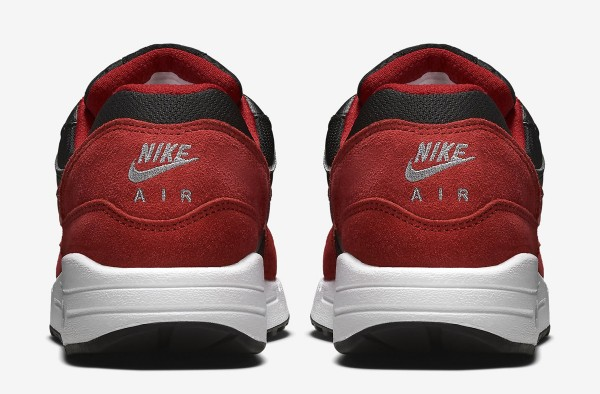 Nike Air Max 1 GS - Black / Red 5