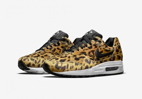 "Nike Air Max 1 GS ""Zoo Pack"" Leopard 1"
