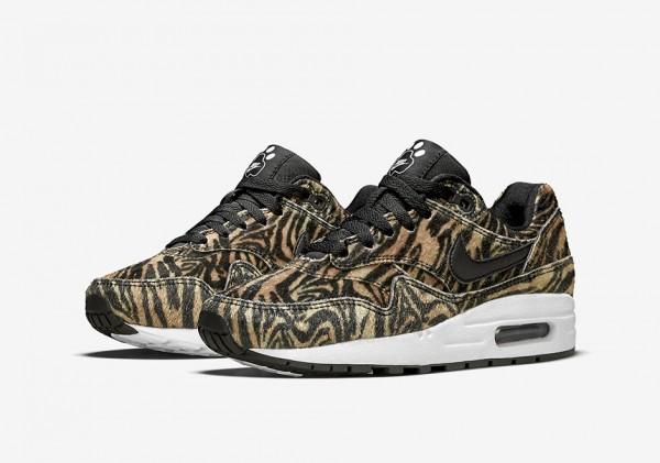 "Nike Air Max 1 GS ""Zoo Pack"" Tiger 1"