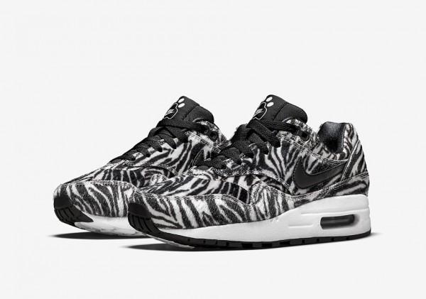 """Nike Air Max 1 GS """"Zoo Pack"""" Zebra 1"""