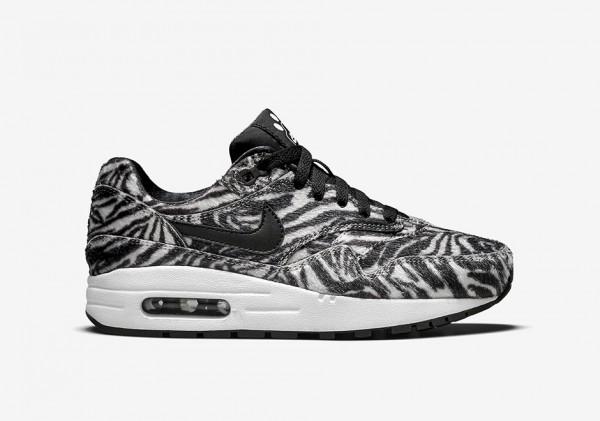 """Nike Air Max 1 GS """"Zoo Pack"""" Zebra 2"""