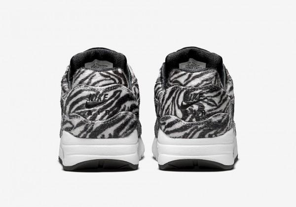 """Nike Air Max 1 GS """"Zoo Pack"""" Zebra 4"""