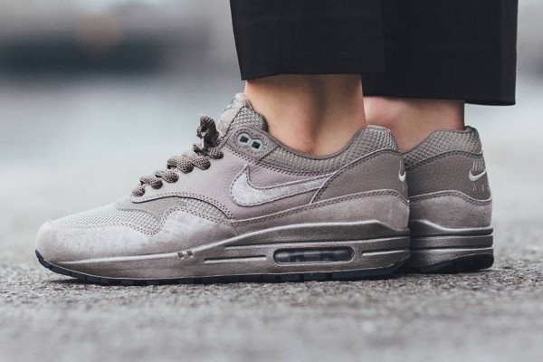 Nike Air Max 1 Premium - Iron/Metallic Pewter-Black 11