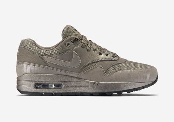 Nike Air Max 1 Premium - Iron/Metallic Pewter-Black 2