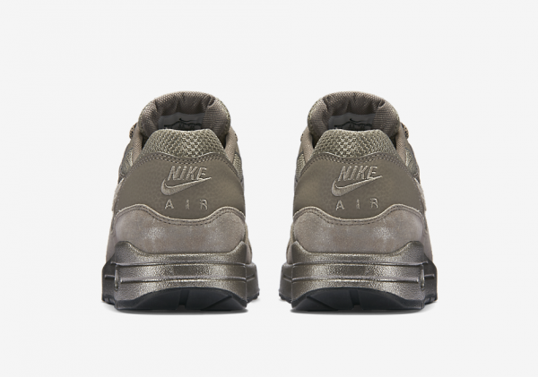 Nike Air Max 1 Premium - Iron/Metallic Pewter-Black 4