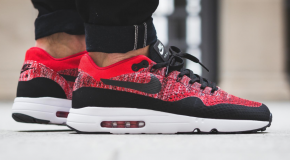 Nike Air Max 1 Ultra 2.0 Flyknit – University Red/Black