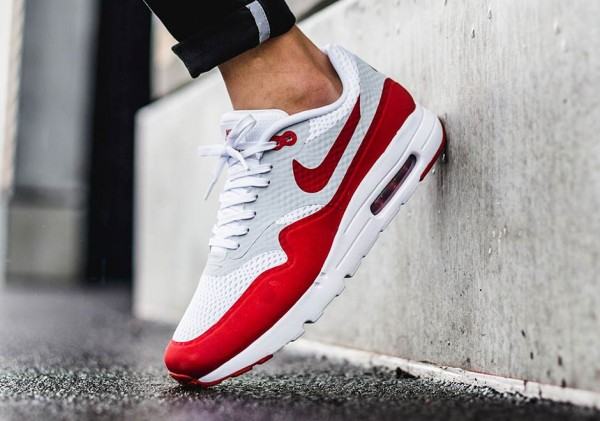 "Nike Air Max 1 Ultra Essential ""Sport Red"" 4"