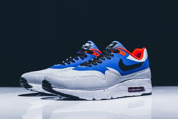 Nike Air Max 1 Ultra Essential - White/Black-Varsity Royal-Reflective Silver 2