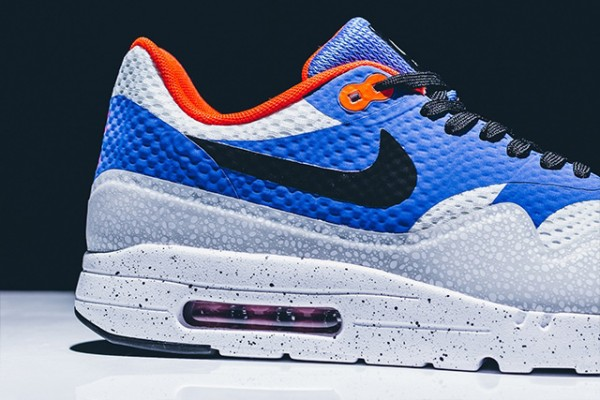 Nike Air Max 1 Ultra Essential - White/Black-Varsity Royal-Reflective Silver 4