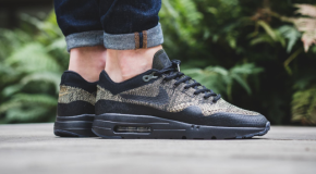 NIKE AIR MAX 1 ULTRA FLYKNIT OLIVE/BLACK