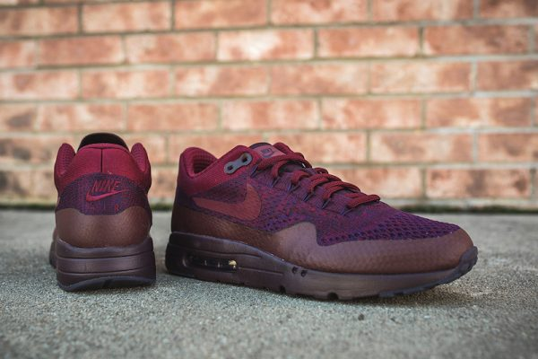 Nike Air Max 1 Ultra Flyknit - Grand Purple/Team Red 2