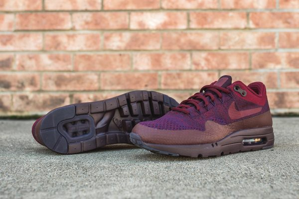 Nike Air Max 1 Ultra Flyknit - Grand Purple/Team Red 4