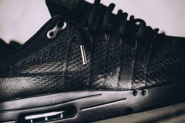 Nike Air Max 1 Ultra Flyknit - Triple Black 4