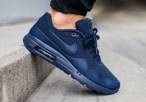 Nike Air Max 1 Ultra Moire - Midnight Navy/Black 2