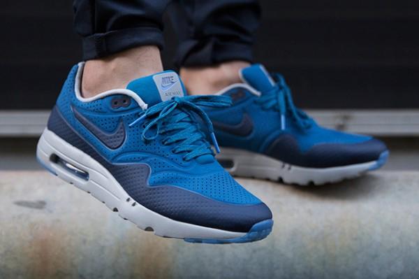 Nike Air Max 1 Ultra Moire - Navy Blue/Bright Blue-White 2