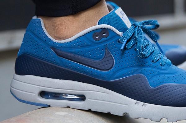 Nike Air Max 1 Ultra Moire - Navy Blue/Bright Blue-White 3