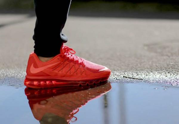 """Nike Air Max 2015 """"Bright Crimson"""" 2"""